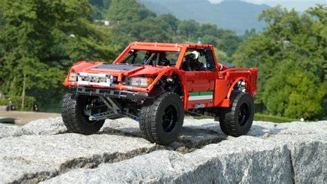Lego Baja Truck by Moc Baja Trophy Truck With Sbrick Lego Technic