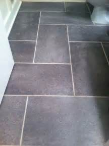 groutable vinyl tile slate floor update a standard sized bathroom for 115 things i will