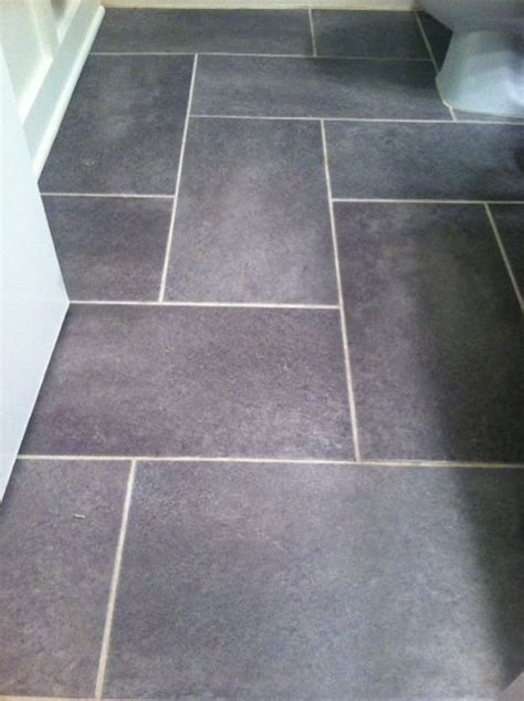 groutable vinyl floor tiles home depot groutable vinyl tile slate floor update a standard sized