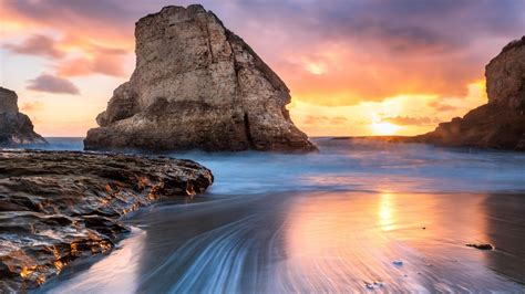 shark tooth beach   wallpapers hd wallpapers id