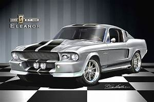 Ford Mustang Shelby Gt 500 1967 : 1967 1968 ford mustang fine art prints posters by danny ~ Dallasstarsshop.com Idées de Décoration