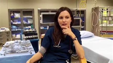The Night Shift On Set Interview With Jill Flint Youtube