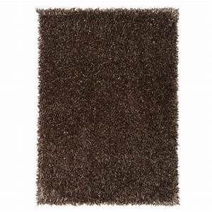 tapis salon feeling marron clair achat vente tapis With tapis salon marron