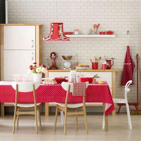 Polka Dot Kitchendiner  Kitchen Design Ideas