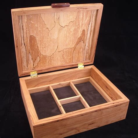 Hand Made Jewelry Box by Mitchell Woodworks