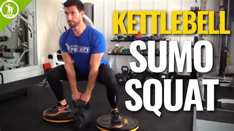 sumo squat kettlebell form technique
