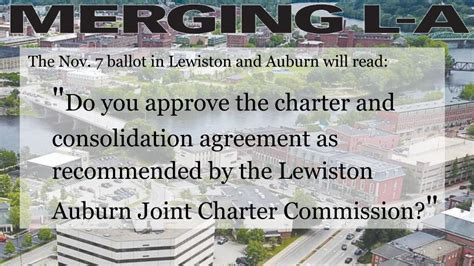 lewiston auburn merger passes lewiston sun journal