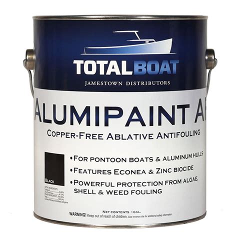 Aluminium Boat Antifouling Paint by Totalboat Alumipaint Af Aluminum And Pontoon Boat
