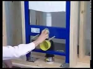 Armoire Suspendu Pour Wc by Installation D Un Wc Suspendu Fixation D Un Abattant Wc