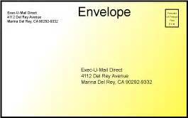 direct mail letters printed