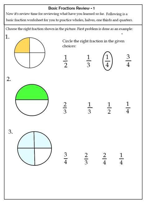 fraction worksheet 2nd grade worksheets for all