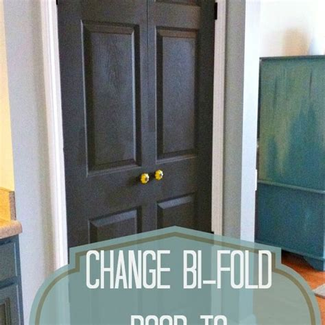 turn  bi fold door   double door hometalk