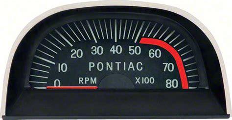 Pontiac Firebird Parts Dash Components Gauges