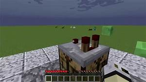 Minecraft - Redstone Comparator Crafting Recipe - YouTube