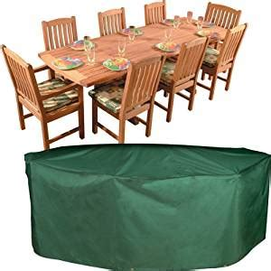 Amazonia Outdoor Furniture Covers by Amazon Com Bosmere Oval Rectangular Table And Chairs