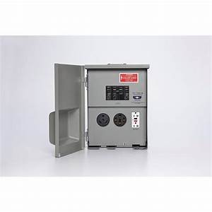 Rv Power Panel Outlet 50