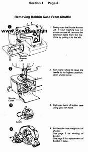 Kenmore 1521 1560 1937 Sewing Machine Threading Diagram