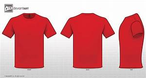 The gallery for --> Red T Shirt Template Front And Back