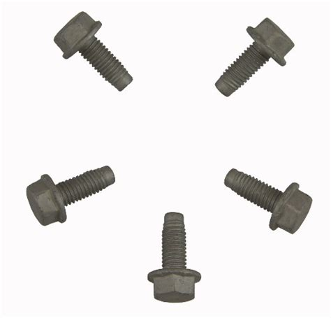 gm flange hex head bolts pack        mm
