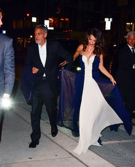 Find out how the couple plans to make their kids' birthdays special. Amal Clooney Looks Chic With Her Twins, Alexander and Ella | Who What Wear