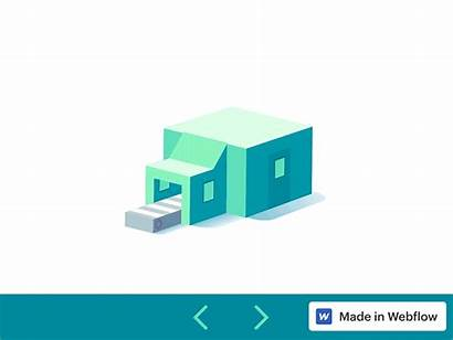 Factory Amplify 3d Webflow Animated Animation Guillaume