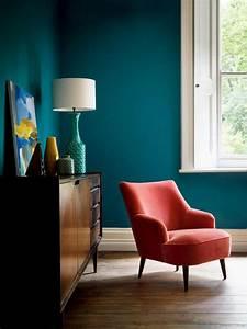 Couleur Bleu Canard Deco : 1001 id es d co salon bleu canard paon p trole du goudron et des plumes ~ Melissatoandfro.com Idées de Décoration