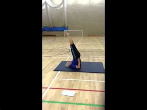 We did not find results for: Gymnastics shoulder stand - YouTube