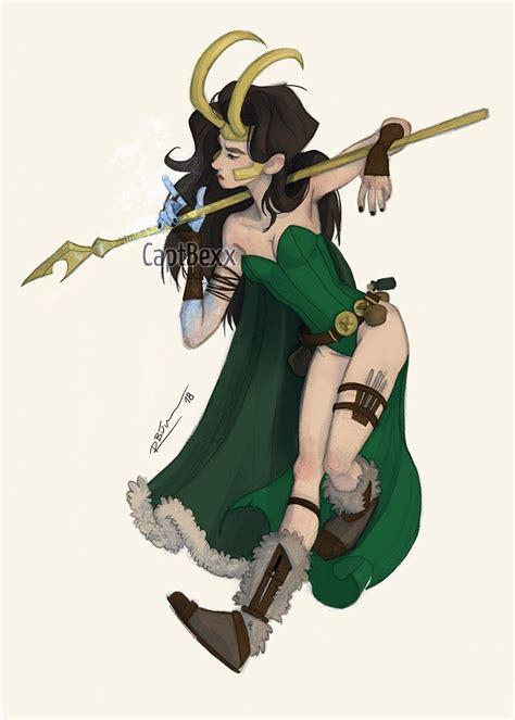 Captbexx Female Thor And Loki Also On Society6