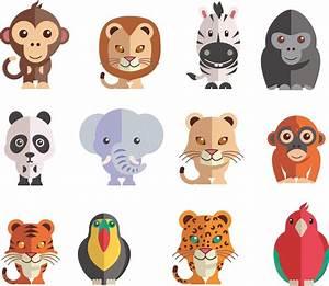 Stickers Animaux De La Jungle : les animaux de la jungle decoration adhesive et relief decoupe polystyrene ~ Mglfilm.com Idées de Décoration