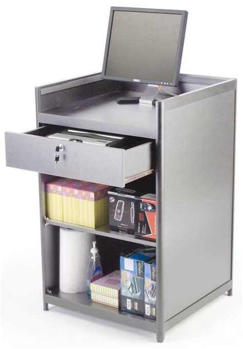 cash register desk for sale silver cash wraps locking rear drawer