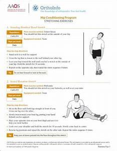 Hip Rehabilitation Exercises - Orthoinfo