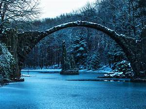 el, puente, de, rakotzbr, u00fccke, -, im, u00e1genes