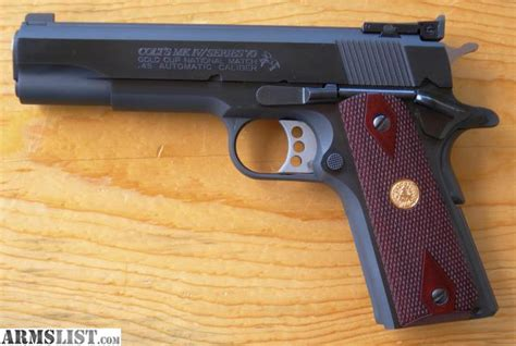 ARMSLIST - For Sale: Colt Gold Cup National Match series 70