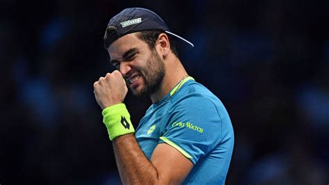 Matteo berrettini is a famous people who is best known as a tennis player. Matteo Berrettini becomes first Italian to win ATP Finals singles match in London   Tennis News ...
