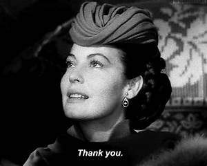 Ava Gardner Thank You GIF - Find & Share on GIPHY