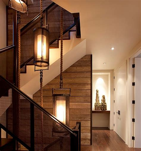 Pictures Of Painted Staircases In Homes by Diy Wood Walls Inspiration Amp How To Install Them