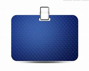 name tag icon blue identification card psd psdgraphics With work badges template