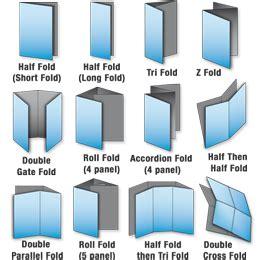 Brochure Printing Services Folders Leaflets Brochure Folds Brochure Folding Options