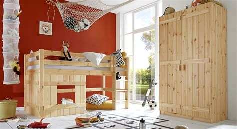 Kinderzimmer Mädchen Massiv by Komplett Kinderzimmer Aus Kiefer Massiv Paradise