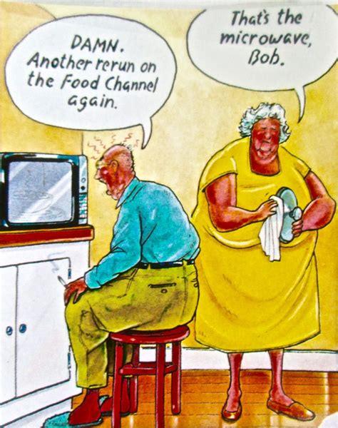 cartoon seniors  home antarctica journal