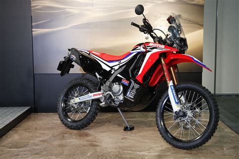 Honda Crf150l Picture by Honda Crf250 Rally Prototype Revealed Visordown