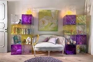 Welche Farbe Zu Lila : 14 wohnzimmer designs in lila ~ Bigdaddyawards.com Haus und Dekorationen