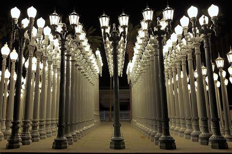 light museum los angeles urban light los angeles county museum of art flickr