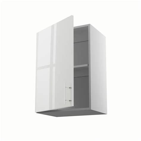 meuble de cuisine haut blanc 1 porte rio h 70 x l 50 x p