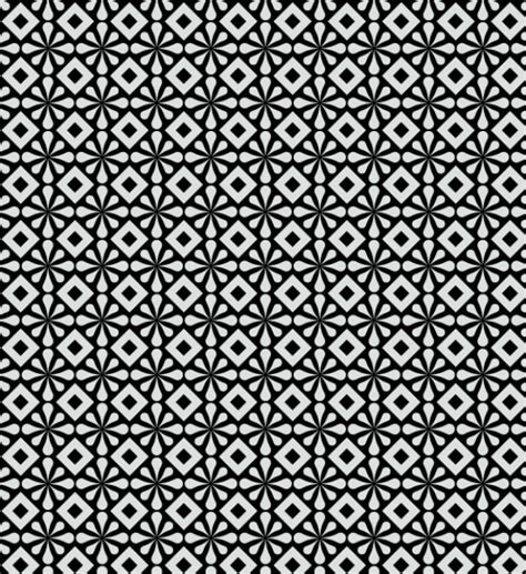 Abstract Black Pattern by Abstract Seamless Pattern In Black And White Vector Free