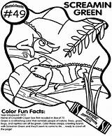 Screamin Coloring Crayola Pages sketch template