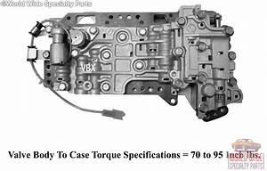 Ford  Mazda F4eat  F4ael Valve Body 1990-1997