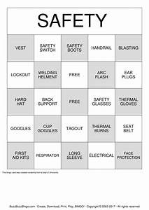 safety bingo game related keywords safety bingo game With safety bingo template