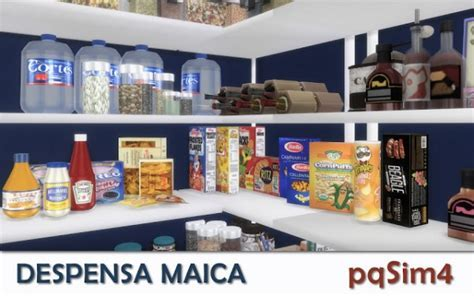 PQSims4: Pantry Maica ? Sims 4 Downloads