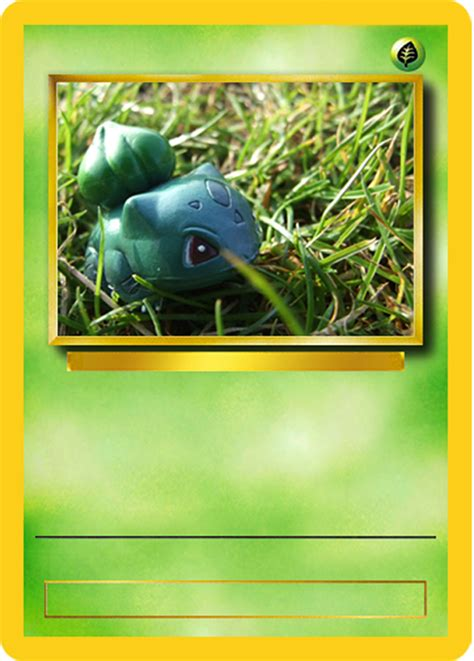 See how 6 of our most favorite pokemon characters change and develop!download pikachu, bulbasaur & Bulbasaur Card Mock Up by Official-Benjina on DeviantArt